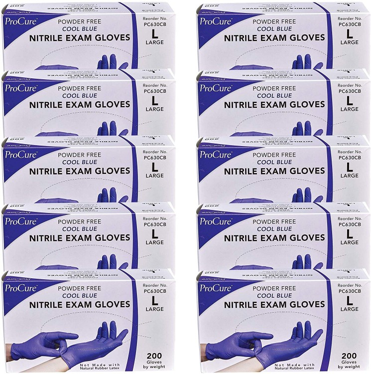Premium Nitrile Gloves (Large) 2000 Counts